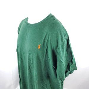 Polo Ralph Lauren Mens T-Shirt Sz 2XL S/S Green